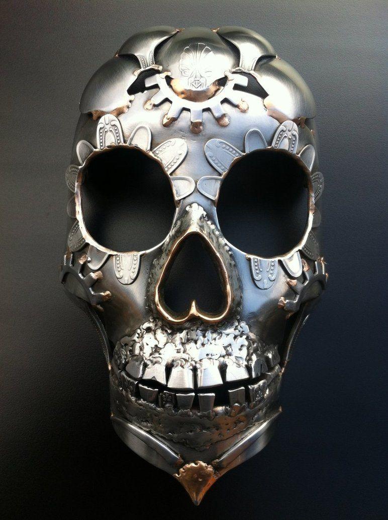Metal Skull by RikuForsman on DeviantArt