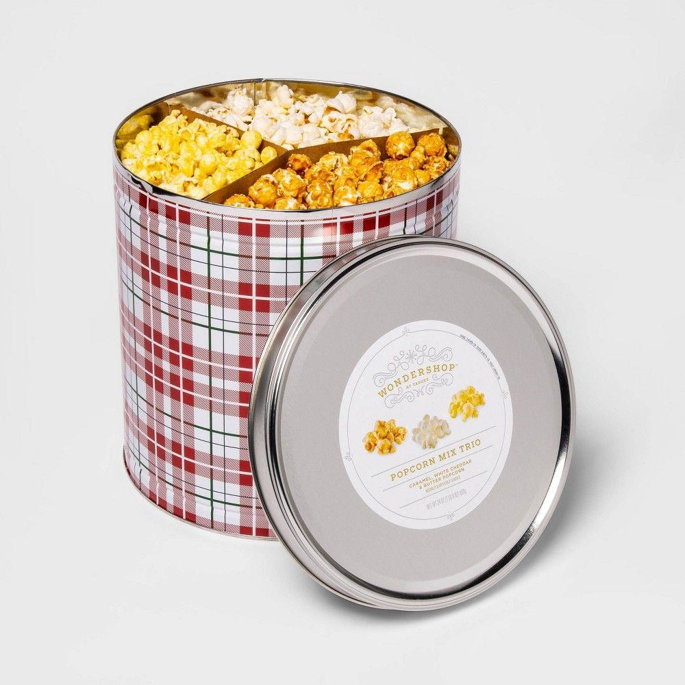 Holiday Popcorn Tin 24oz in 2020 Popcorn