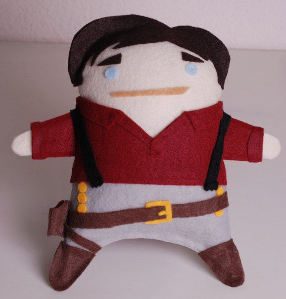 Adorable plush doll of Captain Malcolm Reynolds #Firefly