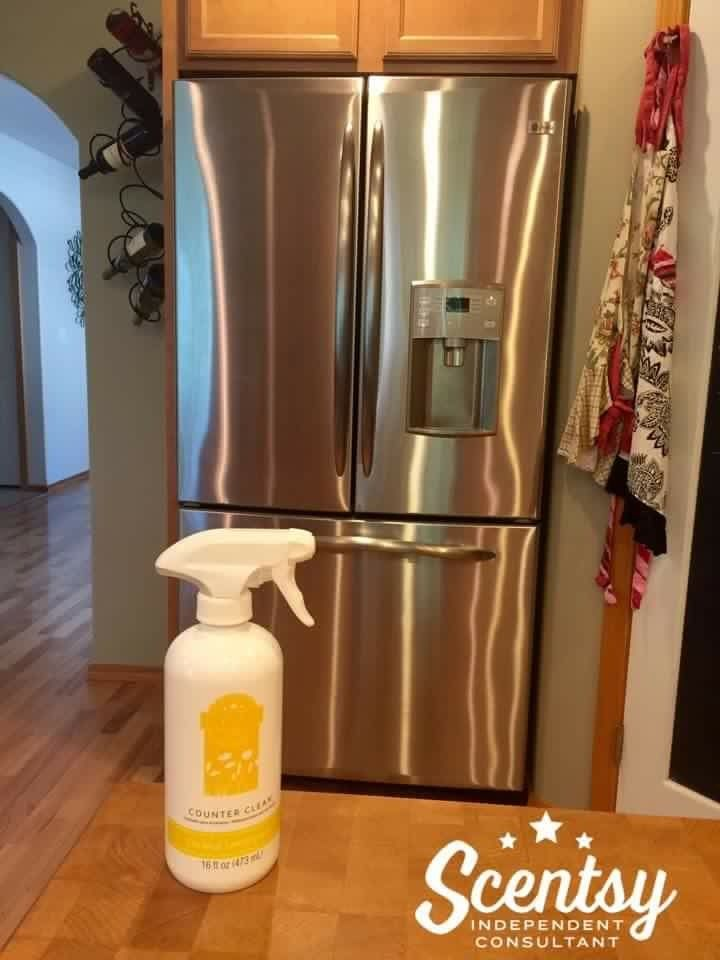 Scentsy Counter Clean Is Great On Stainless Steel