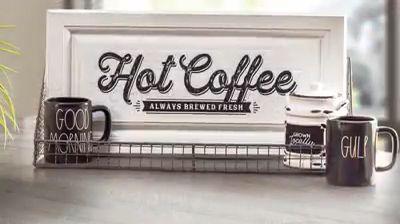 Create an Easy DIY Coffee Bar Sign!