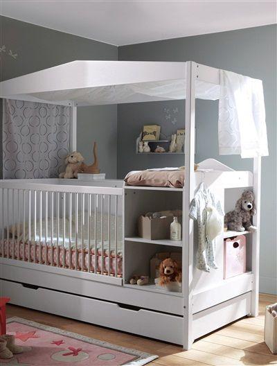 un lit original et fonctionnel pour b b chambres pour. Black Bedroom Furniture Sets. Home Design Ideas