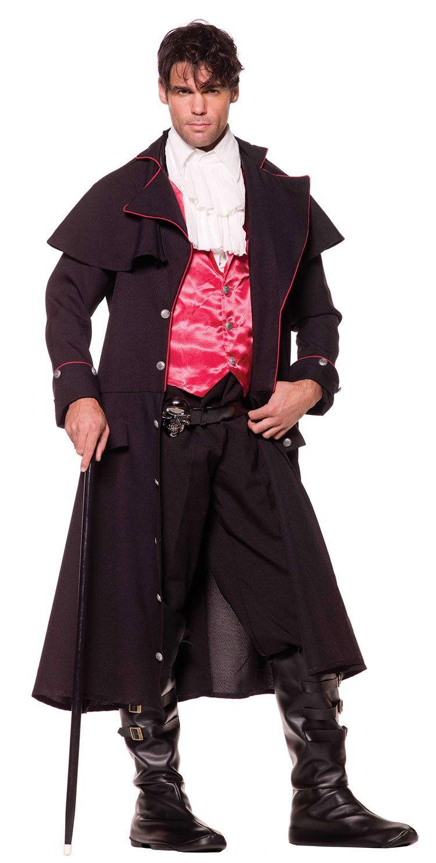 Sexy Vampire Costume Men : vampire, costume, Halloween