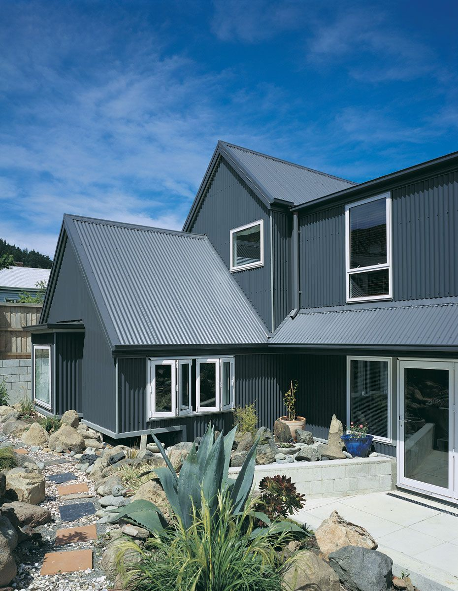 Improve Your Home Aesthetic With Stratco Maximus Cladding Exterior House Remodel Facade House House Cladding