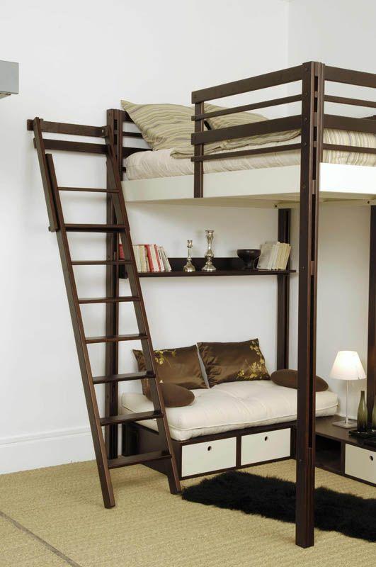 acc s mezzanine espace loggia mezanine pinterest small space living mezzanine and small. Black Bedroom Furniture Sets. Home Design Ideas