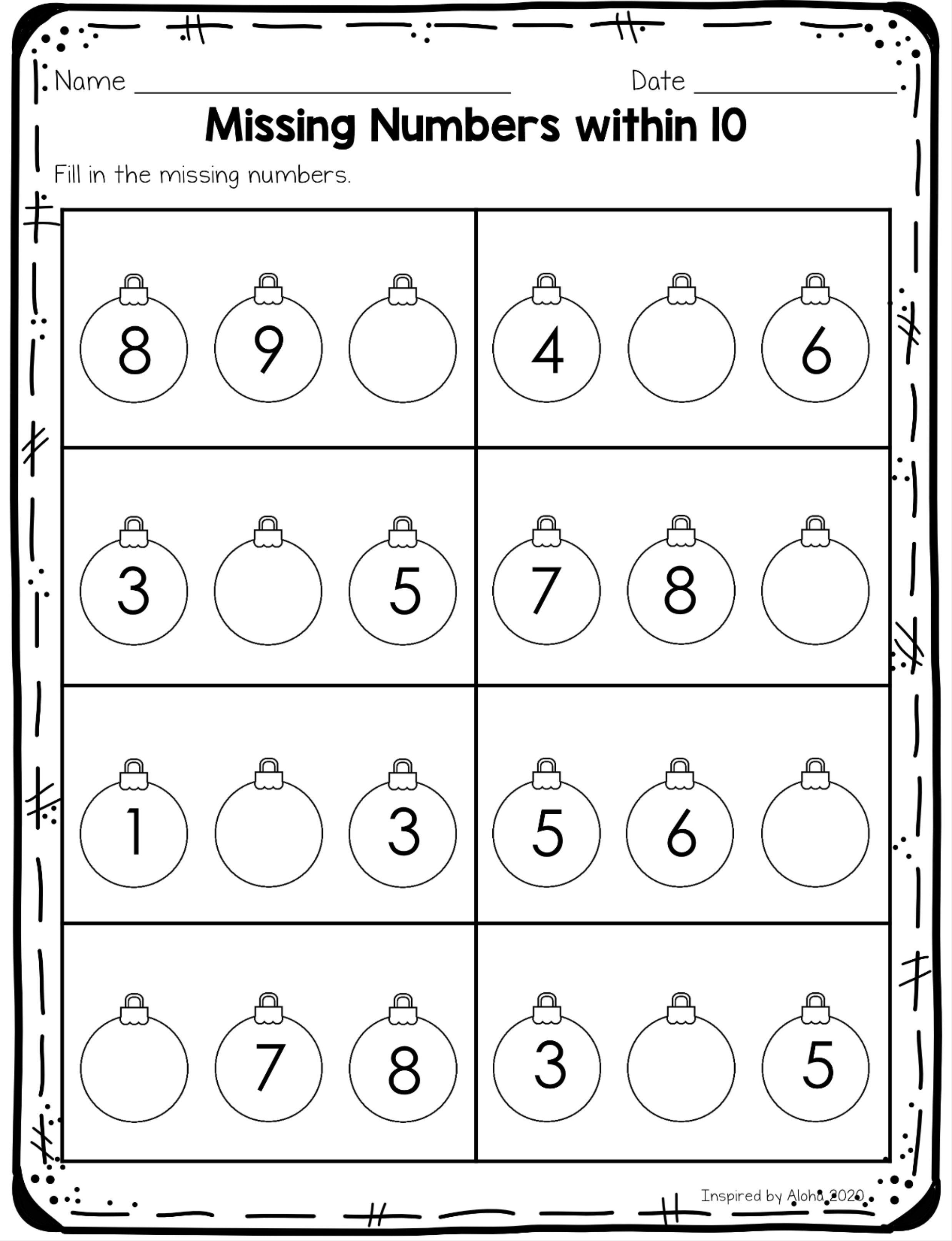Kindergartencounting Winterprintables Kindergartenmathworksheets Noprepprintables Mis Halloween Math Worksheets Christmas Worksheets Touch Math Worksheets [ 3225 x 2475 Pixel ]