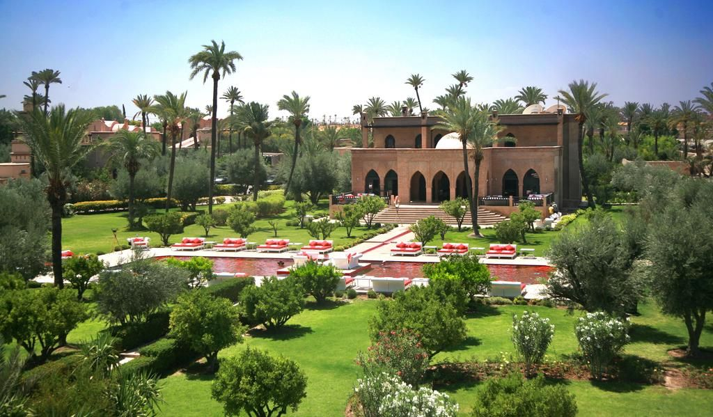 The most colourful pools in the world Marrakech
