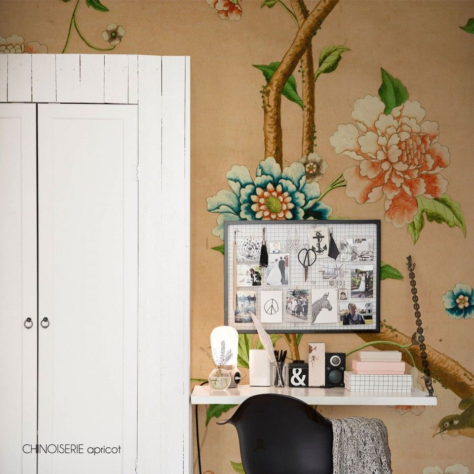 And a touch of luxury to your home with this stunning Chinoiserie Apricot…