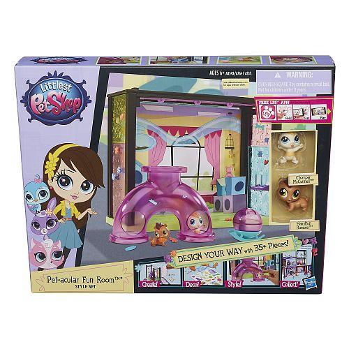 Littlest Pet Shop Pet Acular Fun Room Style Set Hasbro Toys R Us Little Pet Shop Toys Little Pets Pet Shop