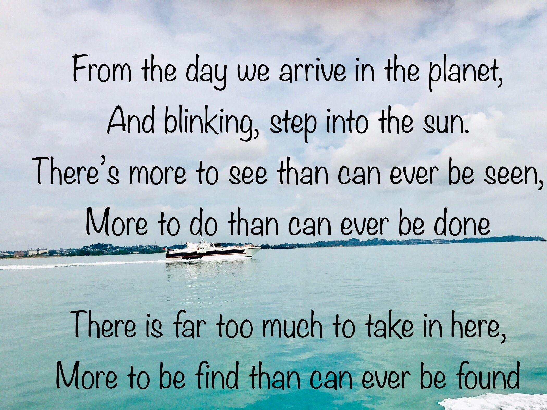 Travel Quote inspired from Lion King circle of life