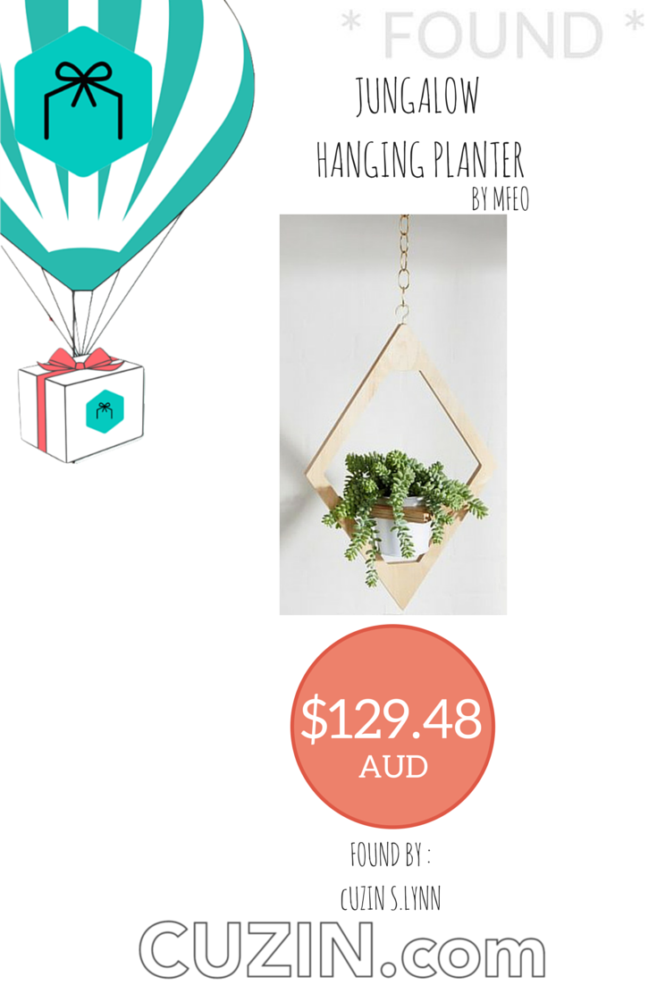 Exclusive #offer posted by #CUZIN S.Lynn! #jungalow #hanging #planter by #mfeo! More at http://bit.ly/18O4fqY!