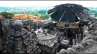 ¿Fue el Templo Kailasa construido con tecnología extraterrestre?