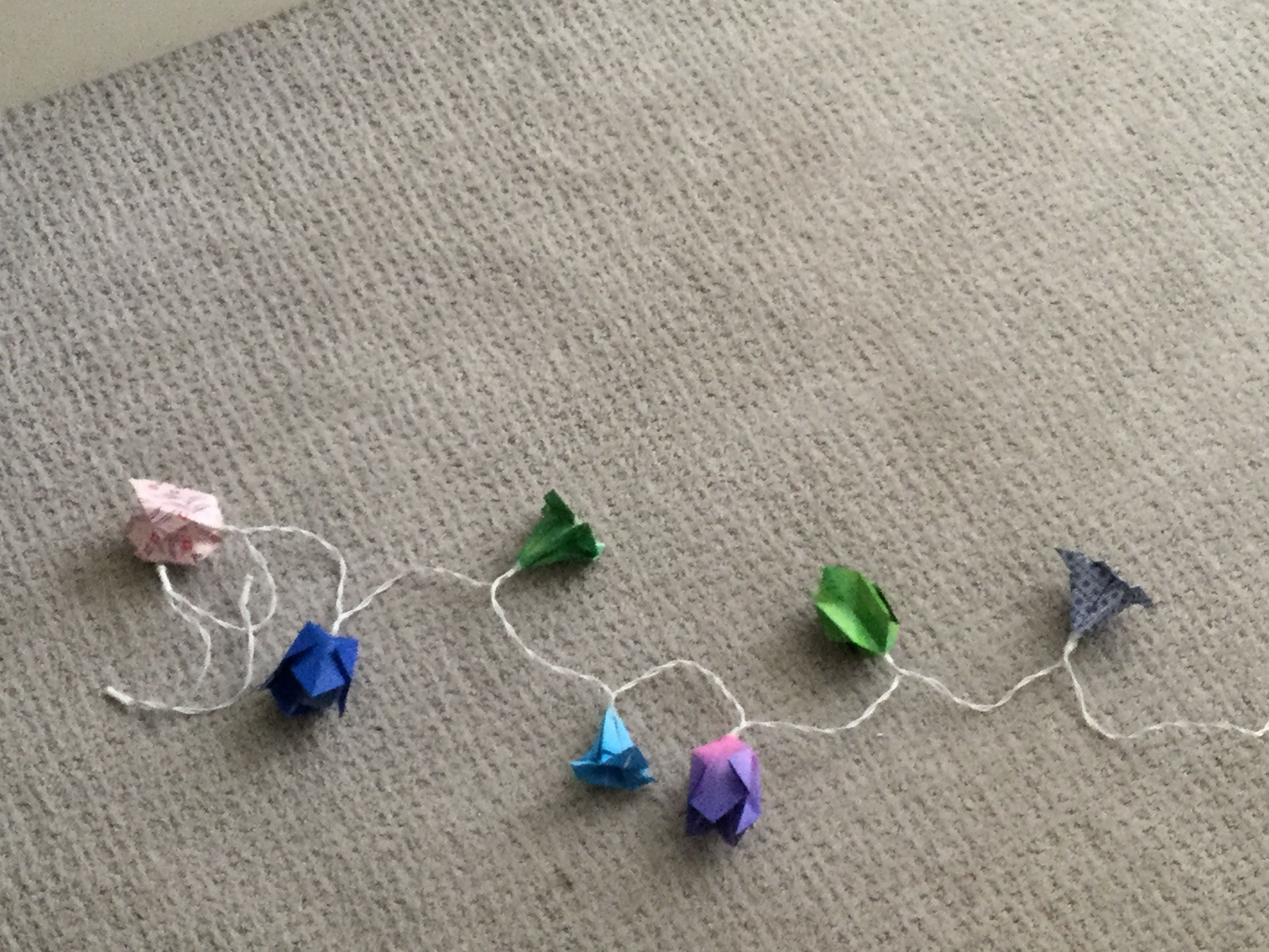 origamiflowers in 2020 Origami flowers, Origami, Jewelry