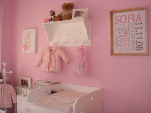 Comoda para bebe decorar tu casa es for Decoracion paredes habitacion bebe nina