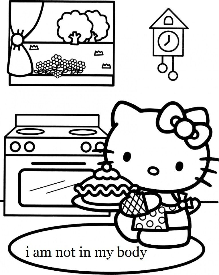 Pin By Dimitri On S Ck Hello Kitty Colouring Pages Kitty Coloring Cat Coloring Book