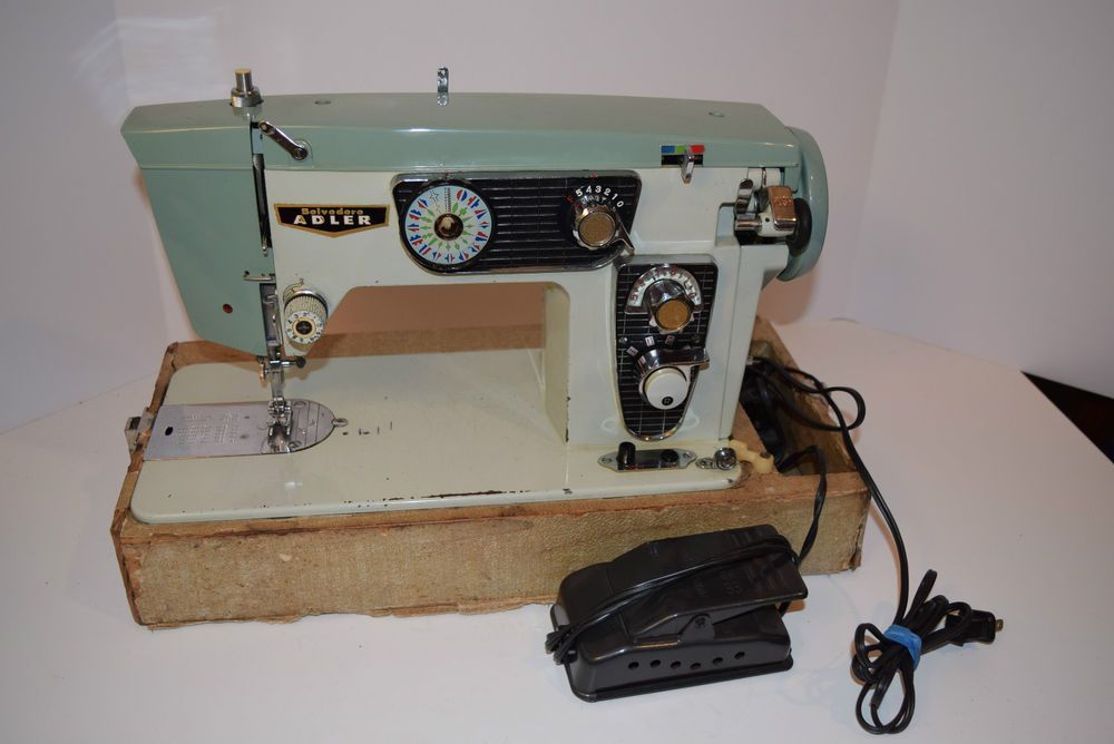Vintage 40's40's Belvedere Adler Model 40B Sewing Machine Inspiration New Home Sewing Machine Models