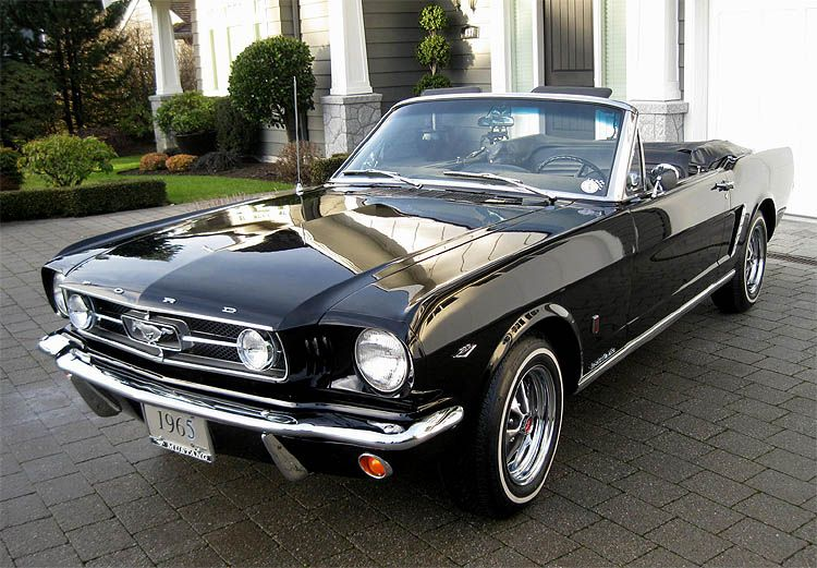 1965 Red Richs Mustang convertible