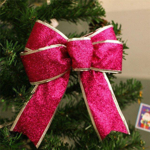 Christmas bow set 5pc