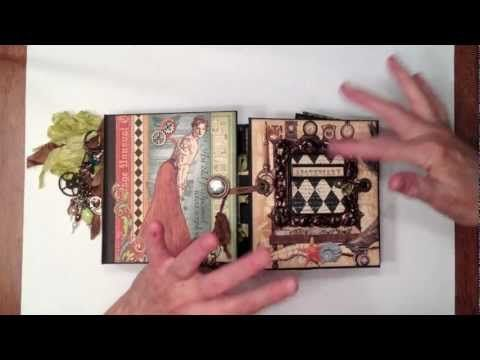 G45 Old Curiosity Shoppe Gatefold Mini Album Video By Ginger Ropp