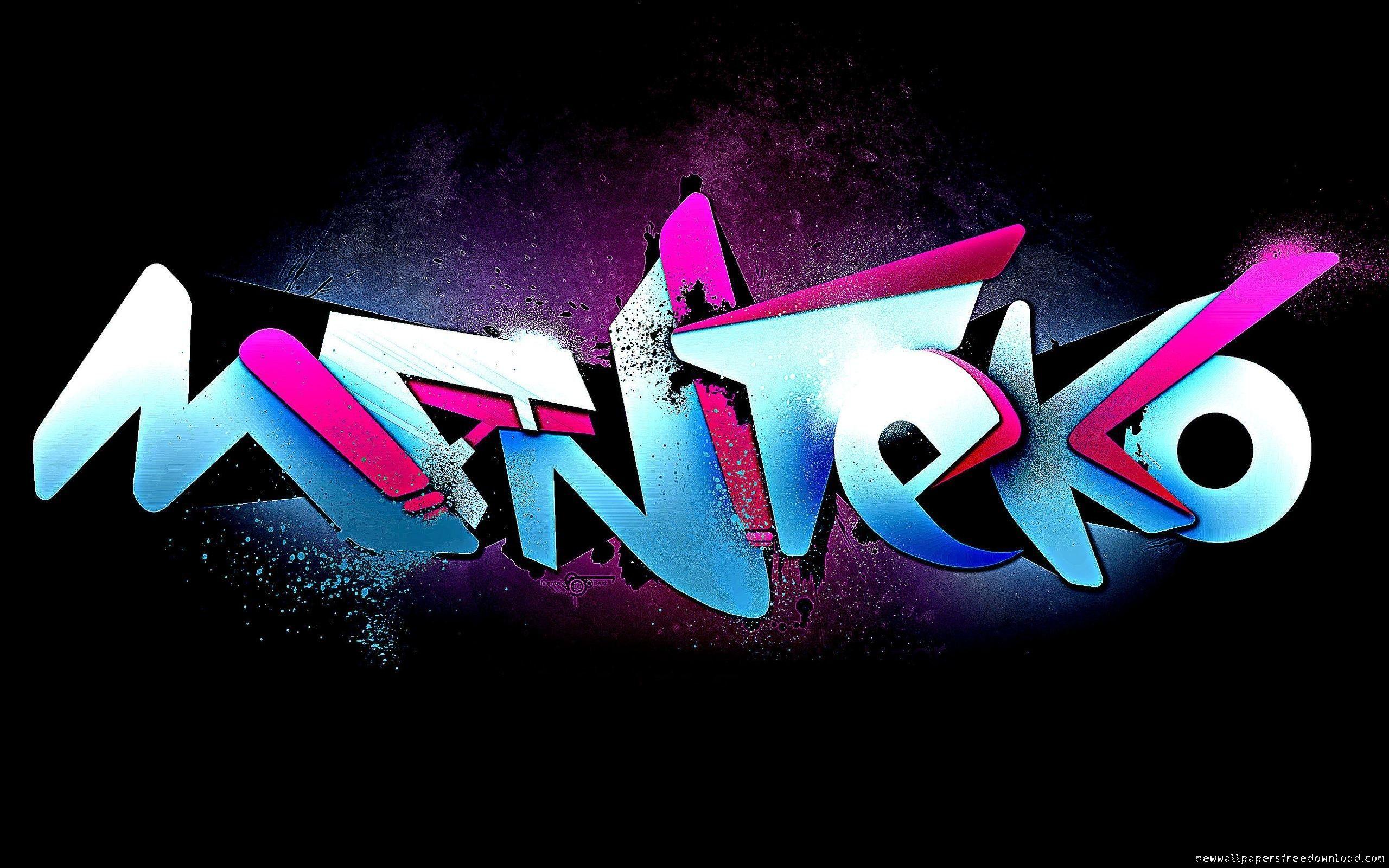 wallpaper 3d graffiti backgrounds hd background desktop