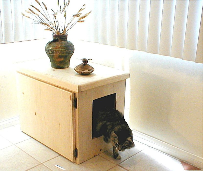 Charming Cat Litter Concealment Cabinets, The Catbox, Kitty Litter Boxes, Cat Litter  Furniture.