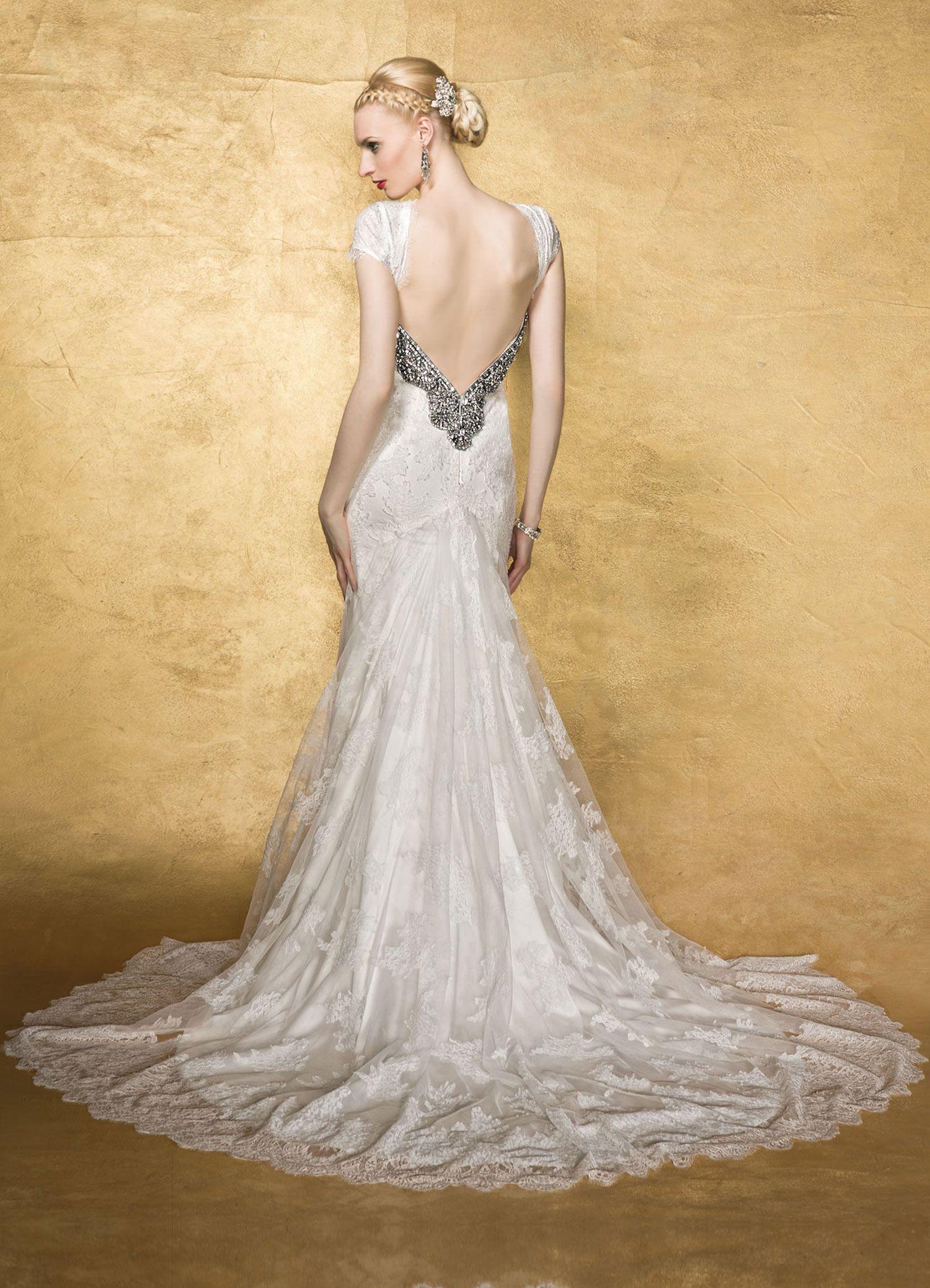 Yumi Katsura Wedding Dresses With Luxurious Swarovski Crystal ...
