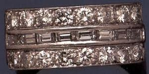 Elvis Diamond And Platinum Wedding Ring Wanted The Made With A Row