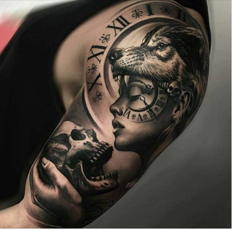 De 200 Fotos De Tatuajes En El Brazo Para Hombres Tatuajes Para