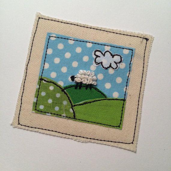 Llittle sheep free motion machine embroidery greeting card llittle sheep free motion machine embroidery greeting card machine embroidery embroidery and free motion embroidery m4hsunfo