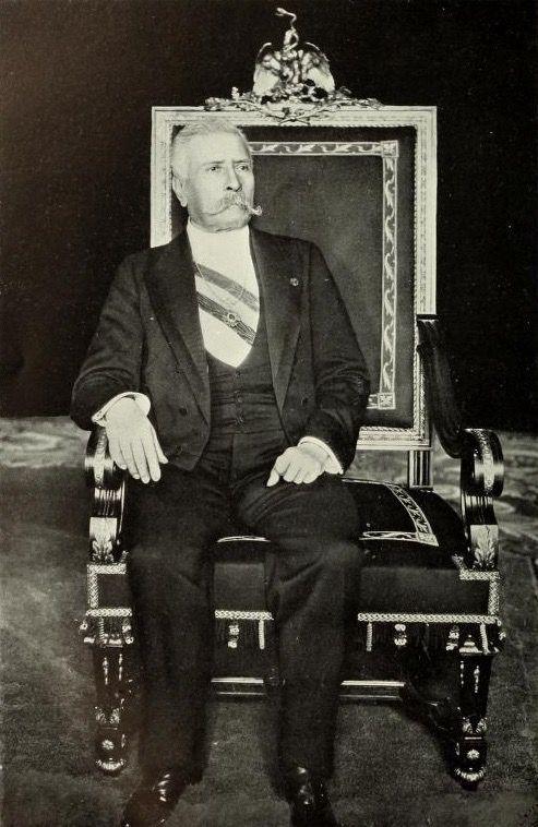 Don porfirio d az silla presidencial pinterest for Silla presidencial
