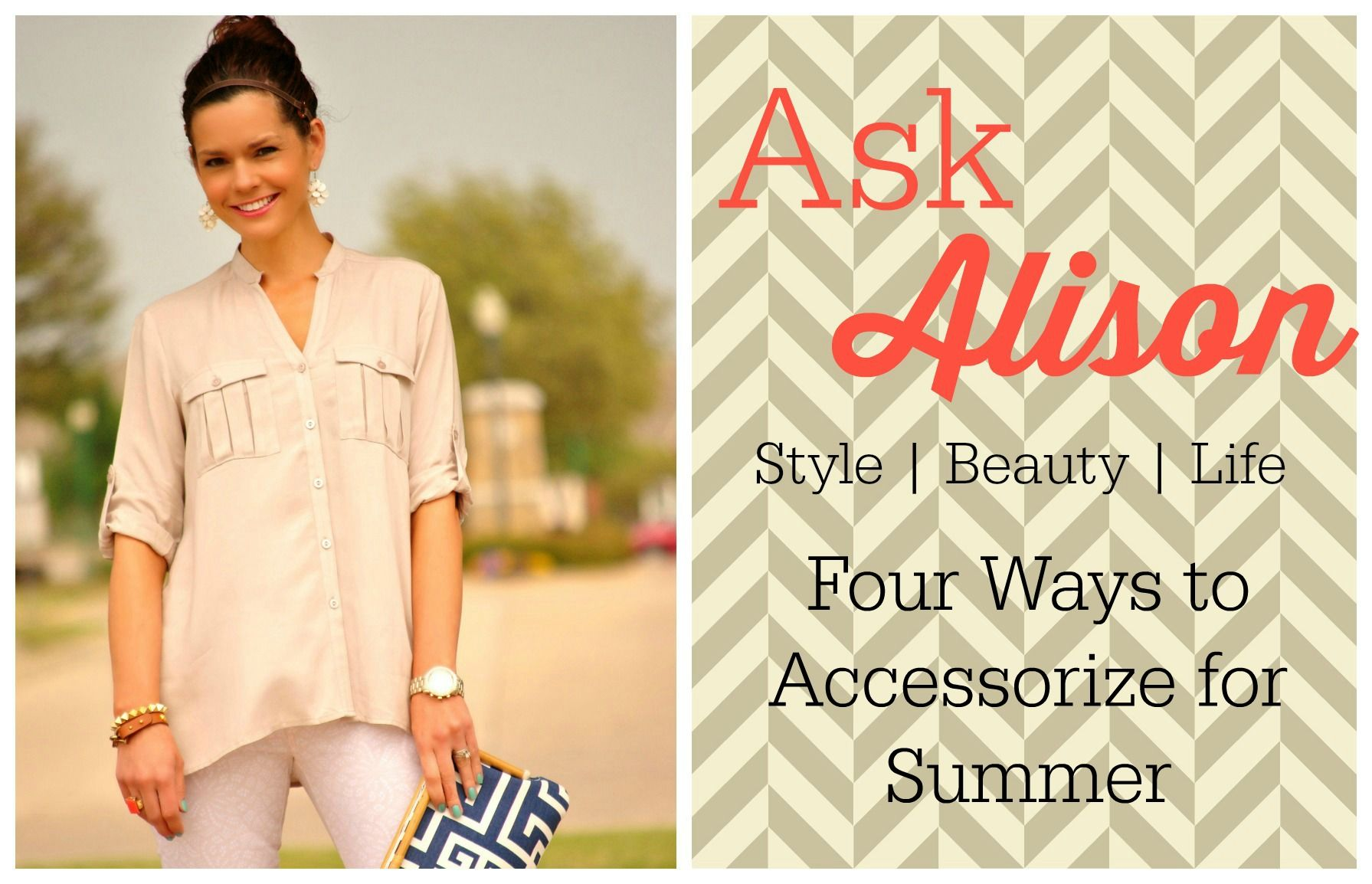 Four cool ways to accessorize your summer outfits when itus hot out