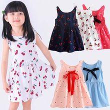 ee8cc0a5df653 Girls Summer Dress Kids dresses for girls clothes Children Dresses ...