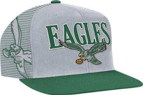 ae9937a5a Not bad. New Philadelphia Eagles Mitchell & Ness Flat Brim Side Logo ...