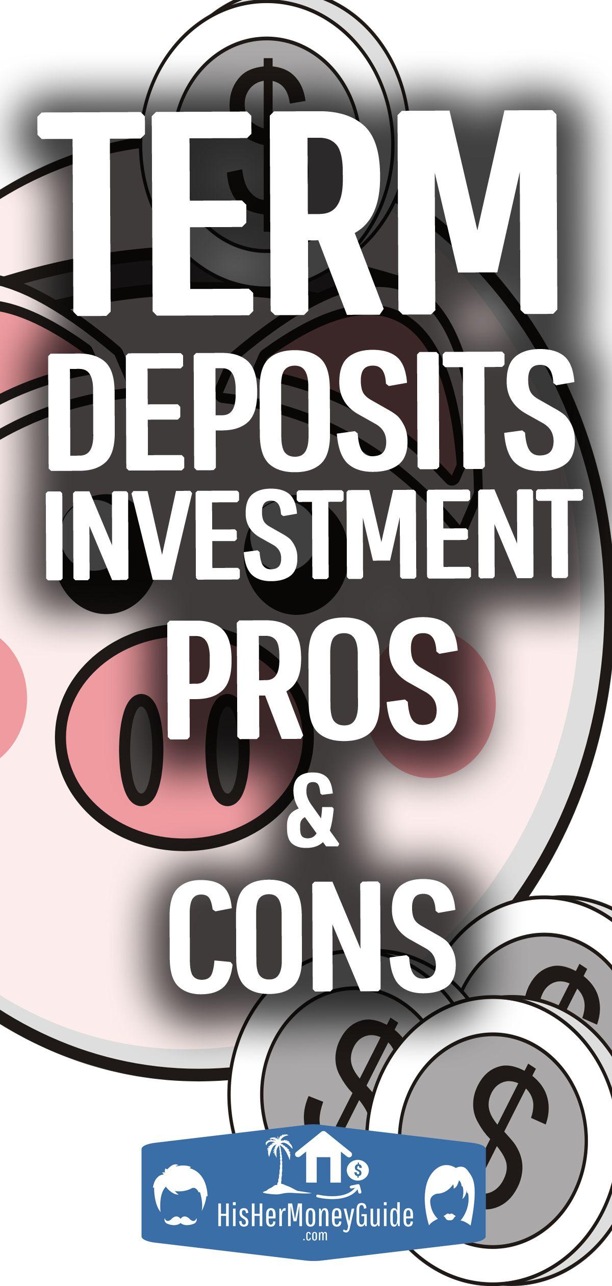 Term deposits/Certificates of deposit A viable