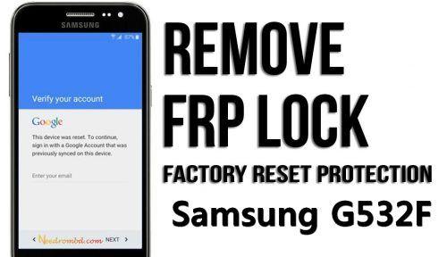 Samsung SM G532F Remove FRP/Google Account | Smartphone Firmware