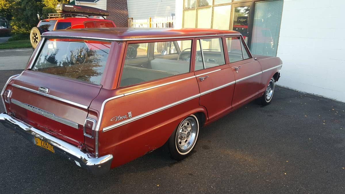 1965 Chevy Nova II Wagon | Chevy nova, Wagon, Cool cars