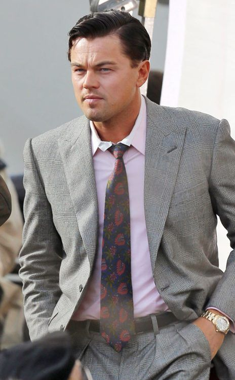 LEONARDO DICAPRIO  The actor brings his dapper self to the Wolf of Wall Street set in the Big Apple.