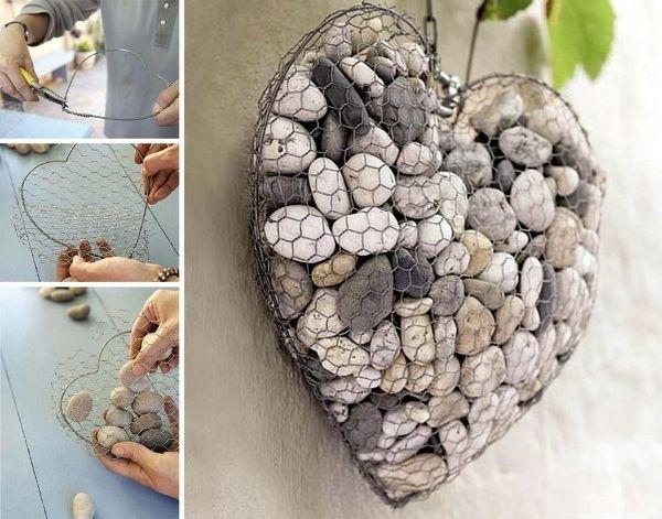 1000+ images about kreative ideen mit steinen on pinterest, Garten und Bauen