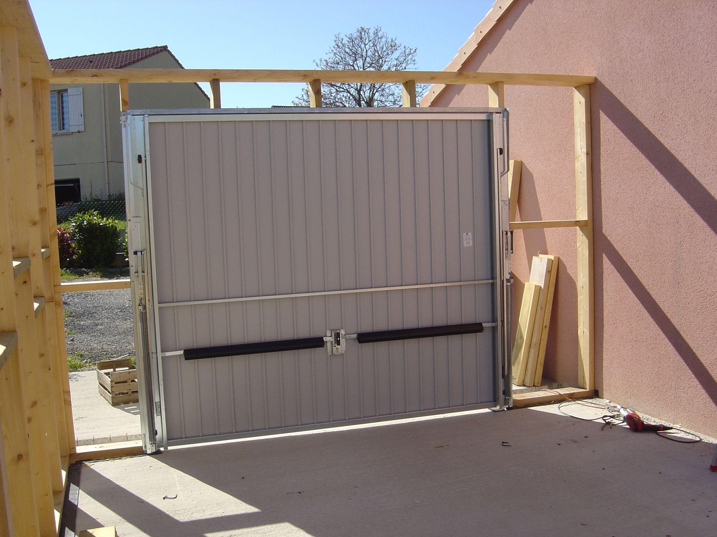Autoconstruction D Un Garage A Ossature Bois Garage Bois Toit Plat Garage Toit Plat Et Garage Bois