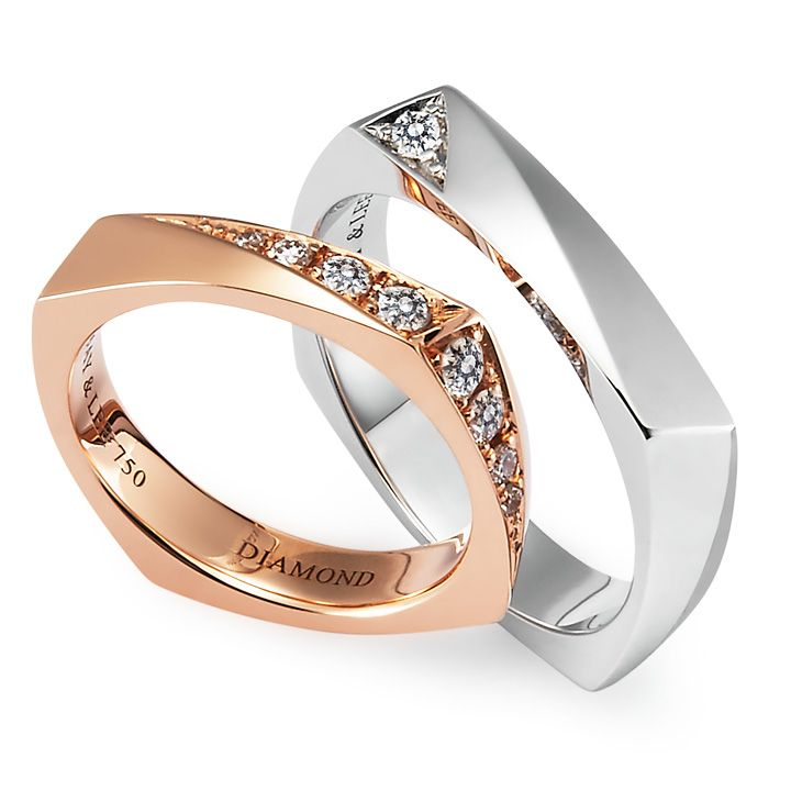 Tetra 메이앤리주얼리뮤지엄 Jewelry Rings Jewelry Couple Rings