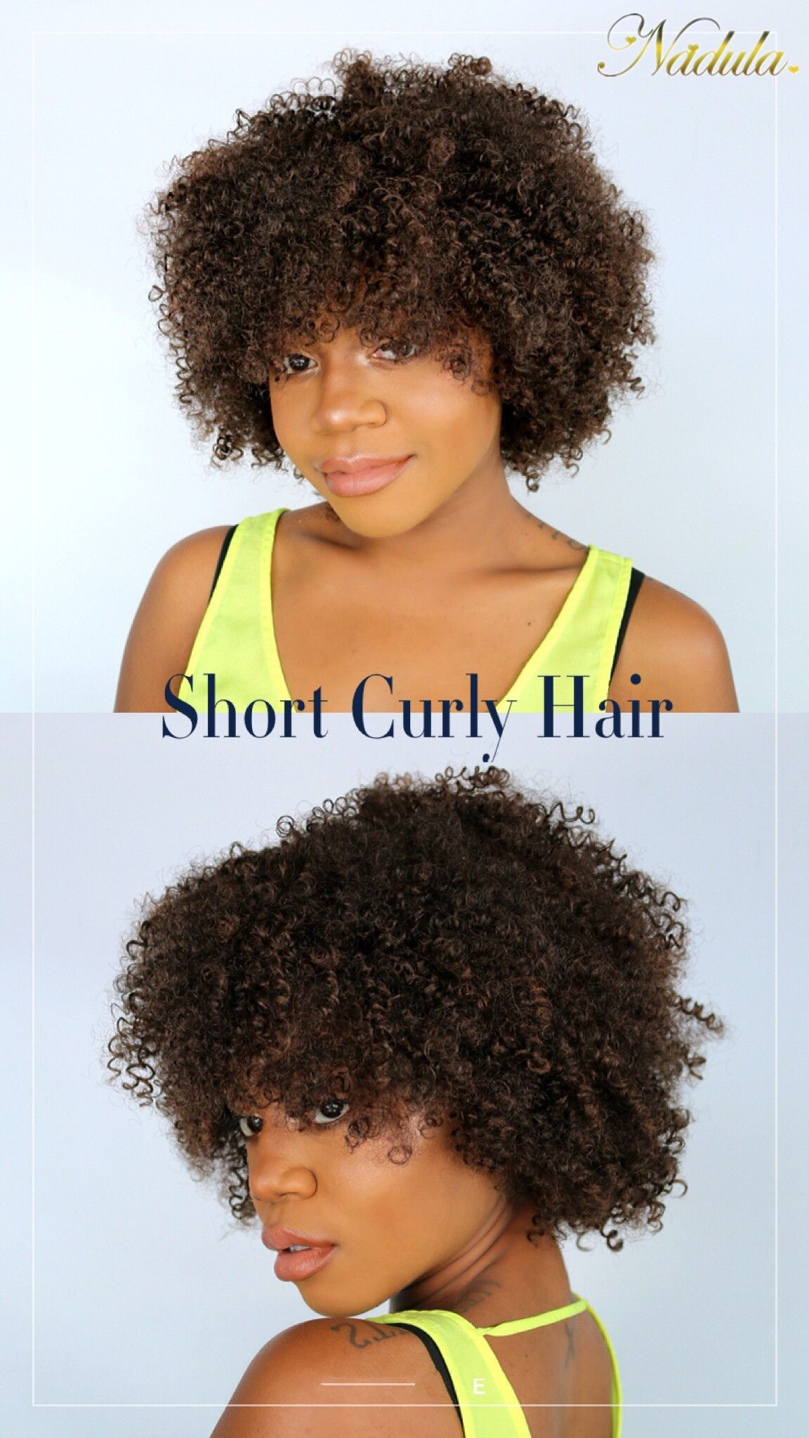 Curly virgin hair weave bundles with lace closure x nadula