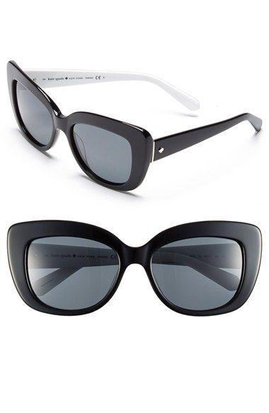 07592ea4c2b kate spade new york  ursula  55mm polarized cat eye sunglasses (Nordstrom  Exclusive)