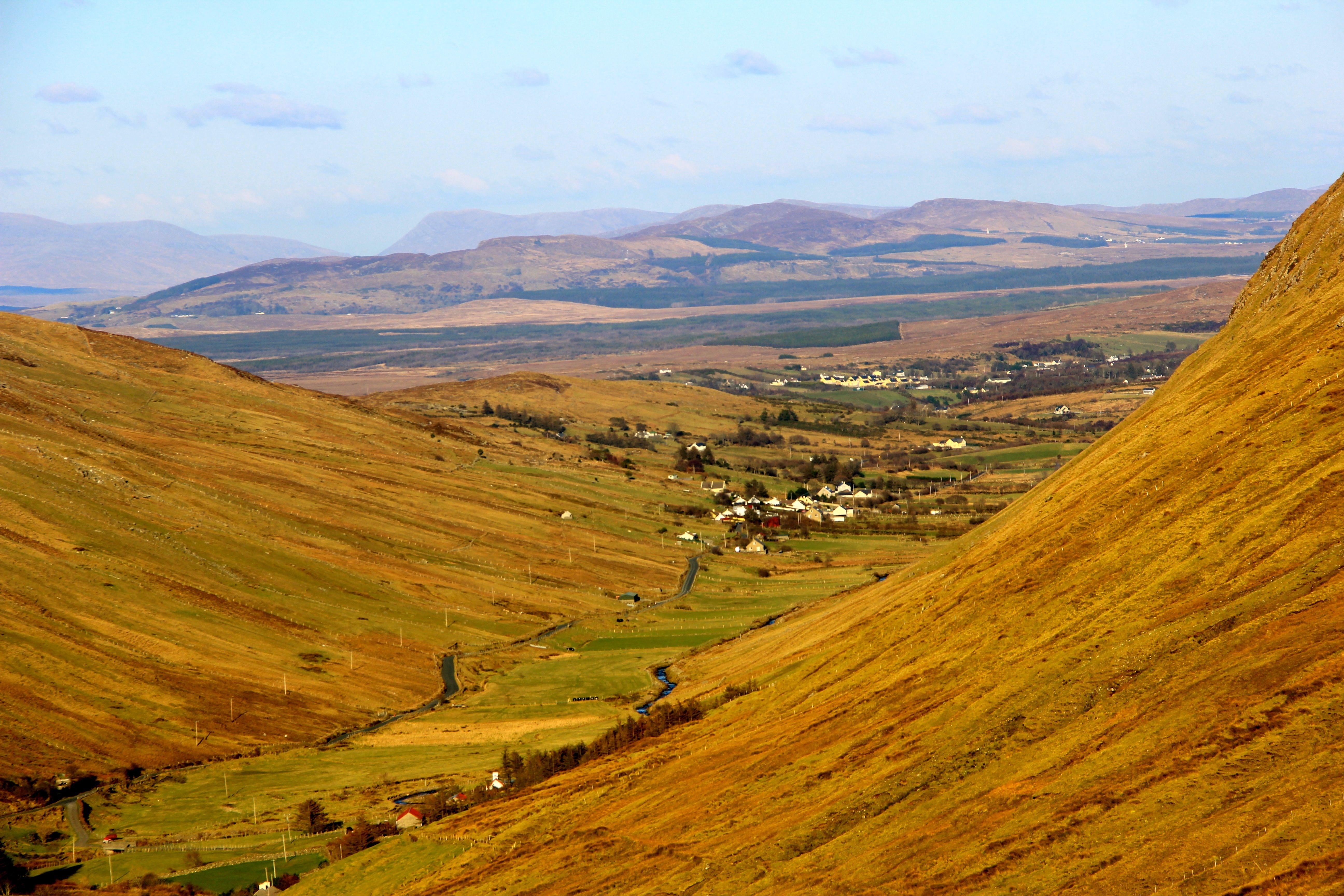 Glengesh Pass, County Donegal, Republic of Ireland