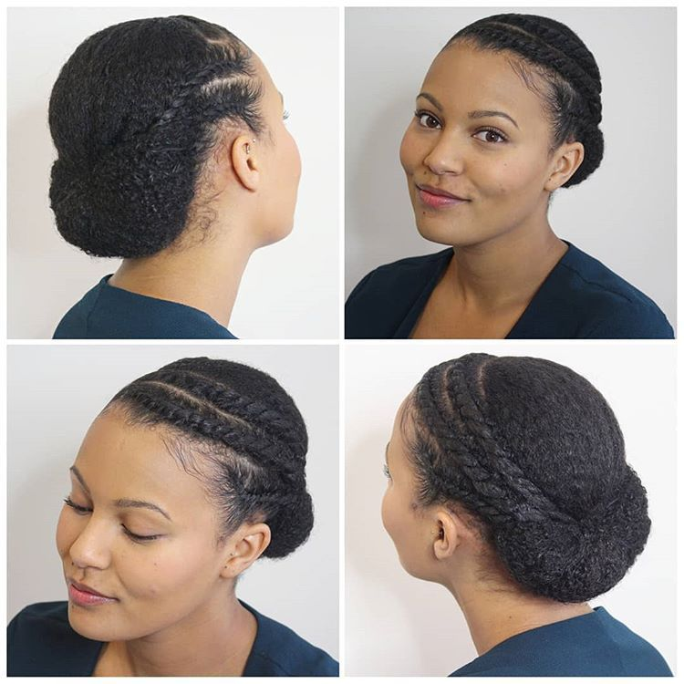 It S Back To The Curls And Back To Protective Styling After