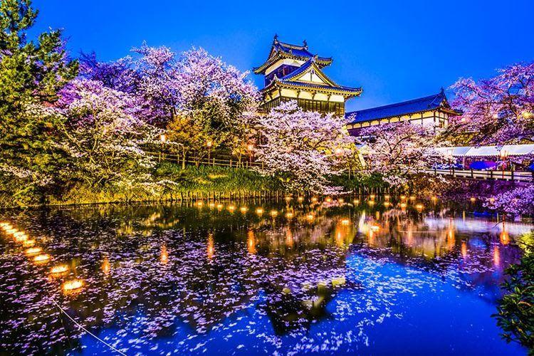 Fantastis 30 Foto Pemandangan Keren Di Kota 5 Kota Terindah Di Negeri Sakura Halaman All Kompas Com Download Pemandan Di 2020 Pemandangan Kota New York Kota Bogor