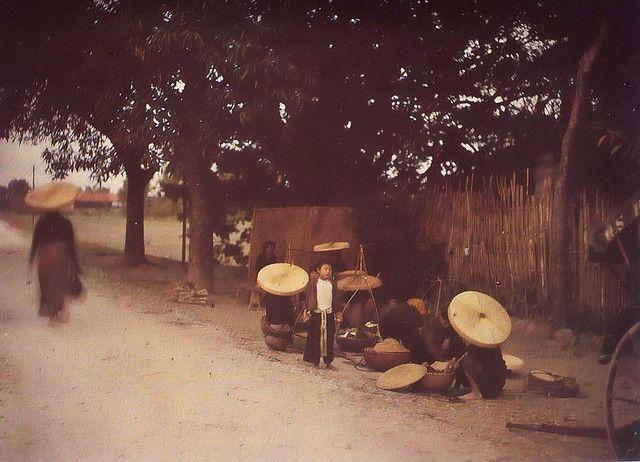 Marchande de riz, 1914-1915