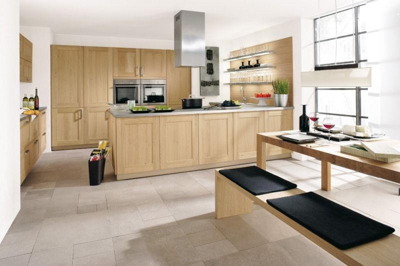 Küche Echtholz Traumküche von ALNO Küchen Pinterest - alno küchen fronten