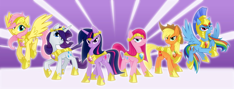 My Little Pony Photos Jpg 3000 1150 My Little Pony Wallpaper