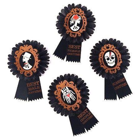 Halloween Costume Awards 4ct - Spritz™  Target Halloween Decor