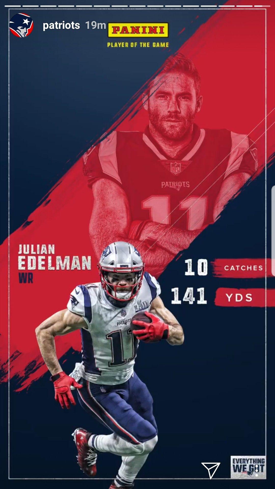 Pin By Maria On Patriots Patriots Julian Edelman New England Patriots New England
